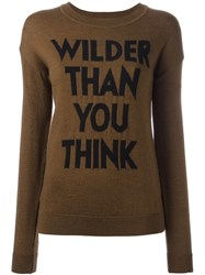 Each X Other 'Wilder Than You Think' Jumper Brown
