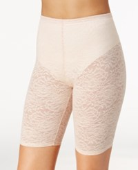 Maidenform Sexy Firm Control Sheer Lace Thigh Slimmer Dm2004 Ivory