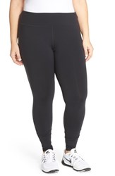 Plus Size Women's Pink Lotus 'Stealth Performance' Leggings