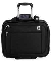 Closeout Delsey Helium Sky 17' Rolling Carry On Tote Macy's Exclusive Color Black