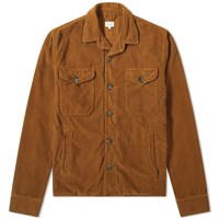 Hartford Joyce Corduroy Jacket Brown