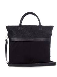 Want Les Essentiels O'hare Ii Felt Shopper Tote Navy Multi