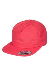 Quiksilver Men's Spaced Out Baseball Cap Pink Shocking Pink