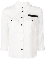 Zadig And Voltaire Toast Shirt White
