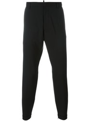 Dsquared2 Tailored Adjustable Waist Trousers Black