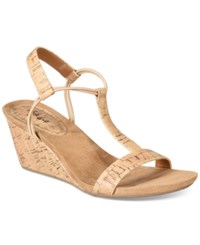 Styleandco. Style Co Mulan Wedge Sandals Created For Macy's Women's Shoes Cork