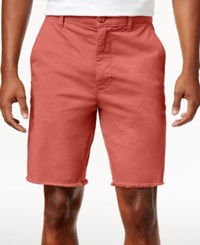 American Rag Men's Stretch Twill Shorts Only At Macy's Rose Dust