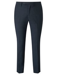 John Lewis Kin By Miller Pindot Tailored Suit Trousers Petrol