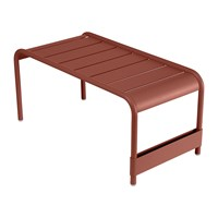 Fermob Luxembourg Low Table Red Ochre