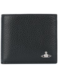 Vivienne Westwood Foldover Cardholder Men Leather One Size Black