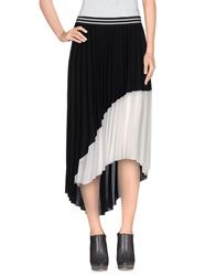 Giorgia And Johns Knee Length Skirts Black