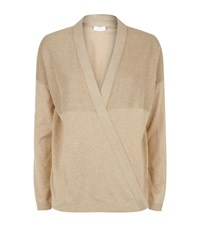 Escada Sport Embellished Wrap Cardigan Female Metallic