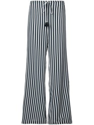 Figue Simone Stripe Trousers Blue