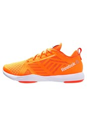 Reebok Cardio Inspire 2.0 Sports Shoes Electric Peach Atomic Red Running White Yellow