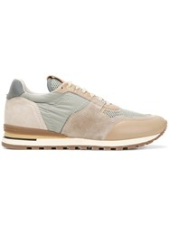 Brimarts Lace Up Sneakers Nude And Neutrals