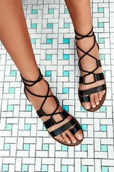 Faryl Robin Free People Vegan Maddie Tie Up Sandal
