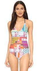 Clover Canyon Butterfly Kaleidoscope One Piece Multi