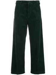 Department 5 Wide Corduroy Trousers Green