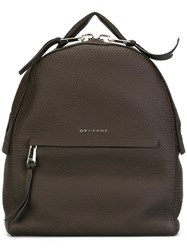 Orciani 'Soft' Backpack Brown