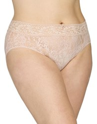 Hanky Panky Plus Lace French Brief Chai