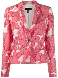 Escada Fitted Jacket White