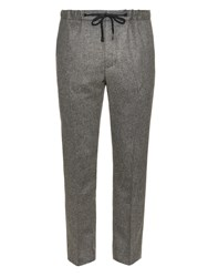 Marc Jacobs Relaxed Leg Flannel Trousers
