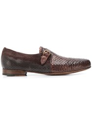 Lidfort Woven Loafers Brown