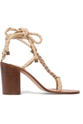 Zimmermann Woven Leather Sandals It40