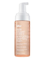Bliss Triple Oxygen Instant Engerizing Cleansing Foam No Color