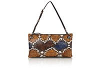 The Row Women's Party Time 10 Python Shoulder Bag Tan