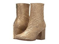 Free People Cecile Ankle Boot Gold Women's Pull On Boots