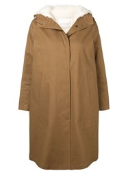 Mackintosh 0001 Buttoned Trench Coat Brown