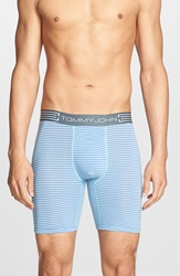 Tommy John 'Cool Cotton' Boxer Briefs Lagoon Blue Purple