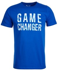 Univibe Game Changer Graphic T Shirt Royal