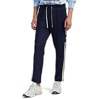Ovadia And Sons Side Striped Slim Track Pants Navy