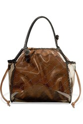 Stella Mccartney The Falabella Faux Leather And Pu Tote Brown