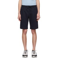 Paul Smith Ps By Navy Cotton Shorts
