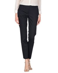 True Royal Trousers Casual Trousers Women Dark Blue