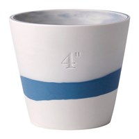 Wedgwood Burlington Pot Pale Blue On White