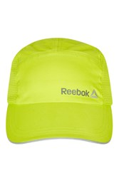 Topshop Run Perfect Cap By Reebok Yellow