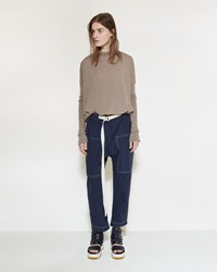 Marni Slouch Denim Trouser Light Navy