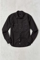 Cpo Surplus Ripstop Work Shirt Charcoal
