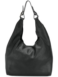 Donna Karan Hobo Tote Bag Black