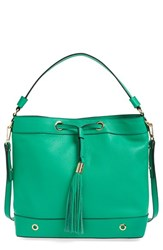 Milly 'Astor' Tassel Leather Hobo