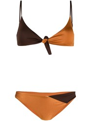 Mc2 Saint Barth Adrian Two Tone Bikini Orange