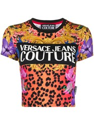 Versace Jeans Couture Cropped Logo T Shirt 60