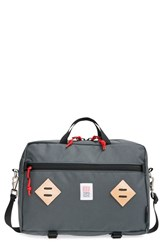 Men's Topo Designs 'Mountain' Briefcase Grey Charcoal
