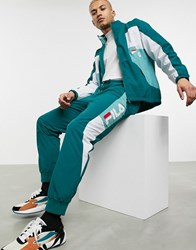 Fila Kilo Jogger With Panel Detail In Green