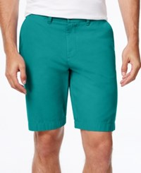 Tommy Hilfiger Men's Classic Fit Chino Shorts Cadmium Green