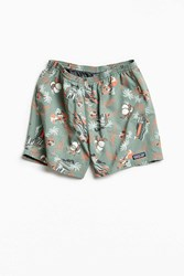 Patagonia 5 Printed Baggies Short Green Multi